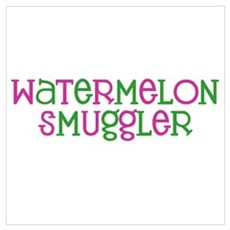 Watermelon Smuggler Canvas Art