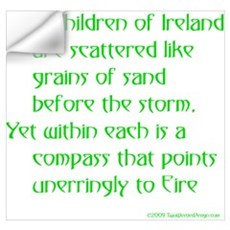 Children of Ireland Wall Decal