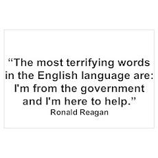 """""""Ronald Reagan"""" Poster"""