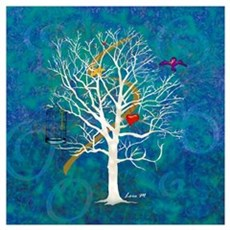 """Tree for dreaming"" Canvas Art"