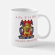 A Co 2-14 INF - Golden Dragon Mug