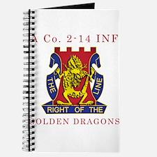 A Co 2-14 INF - Golden Dragon Journal