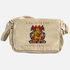 A Co 2-14 INF - Golden Dragon Messenger Bag