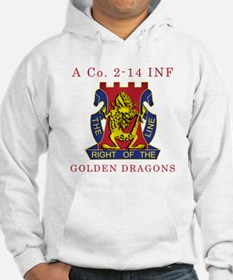 A Co 2-14 INF - Golden Dragon Hoodie