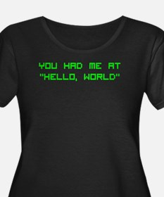 "You had me at ""Hello, World"" T"