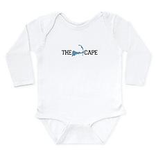 The Cape MA - Map Design Long Sleeve Infant Bodysu
