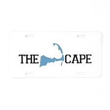 The Cape MA - Map Design Aluminum License Plate