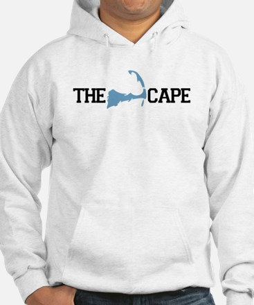 The Cape MA - Map Design Hoodie Sweatshirt