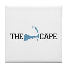 The Cape MA - Map Design Tile Coaster