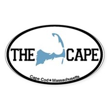 The Cape MA - Map Design Decal