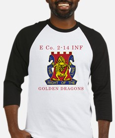 E Co 2-14 INF - Golden Dragon Baseball Jersey