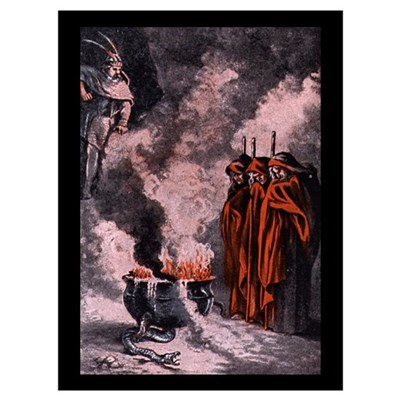 Macbeth Witches Poster