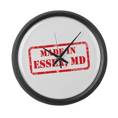 MADE IN ESSEX, MD Large Wall Clock