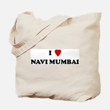 I Love Navi Mumbai Tote Bag