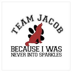 Jacob - No Sparkles Poster