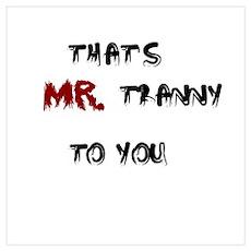 Mr. Tranny Poster
