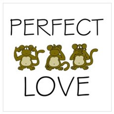 Perfect Love Framed Print