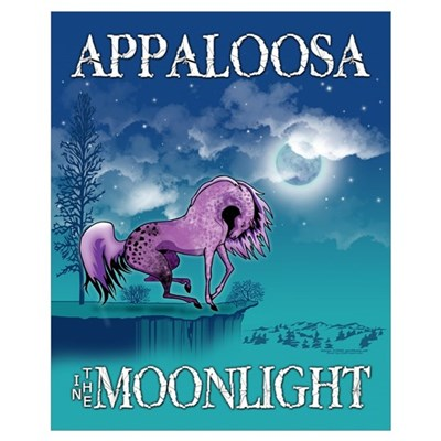 Purple Appaloosa Poster