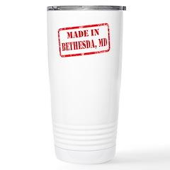 MADE IN BETHESDA, MD Travel Mug