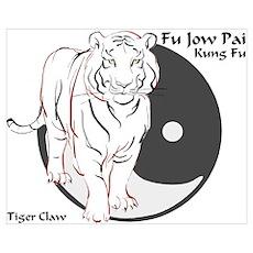 Fu Jow Pai Logo Poster