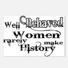 Well Behaved Women Postcards (Package of 8)