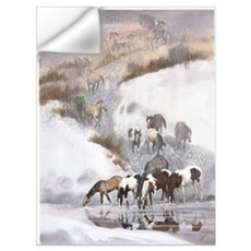 Ghost Herd Horses Wall Decal