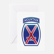 10th Mountain Division - Clim Greeting Card