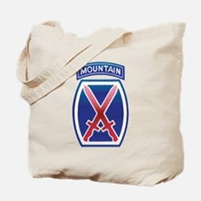 10th Mountain Division - Clim Tote Bag