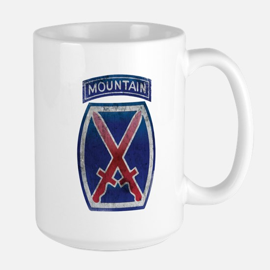 10th Mountain Division - Clim Large Mug