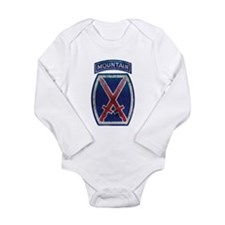10th Mountain Division - Clim Onesie Romper Suit