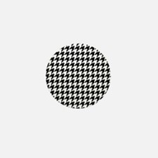 Houndstooth Heaven Mini Button