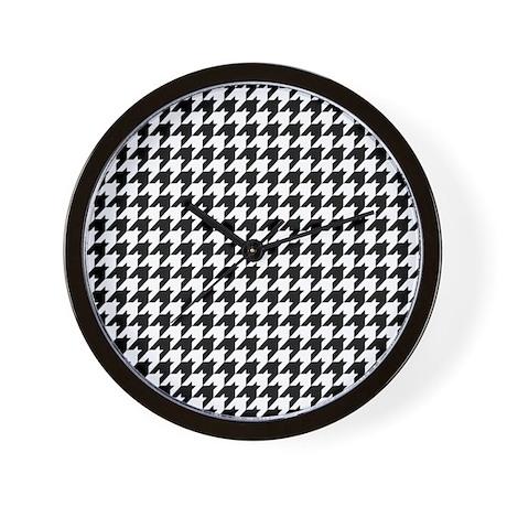 Houndstooth Heaven Wall Clock