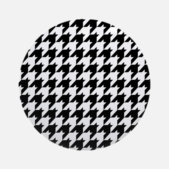 Houndstooth Heaven Ornament (Round)
