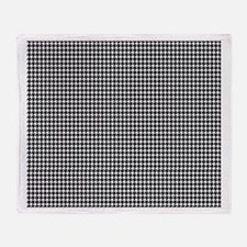 Houndstooth Heaven Throw Blanket