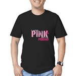 PINK for Friend Men's Fitted T-Shirt (dark)