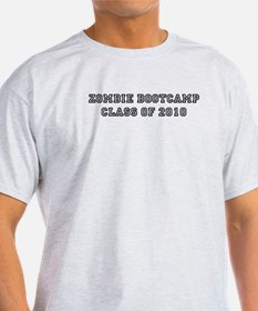Zombie BootCamp: Class of 201 T-Shirt