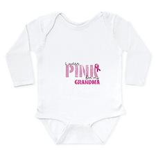PINK for Grandma Long Sleeve Infant Bodysuit
