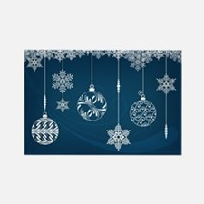 Ornaments and Snowflakes Magnet