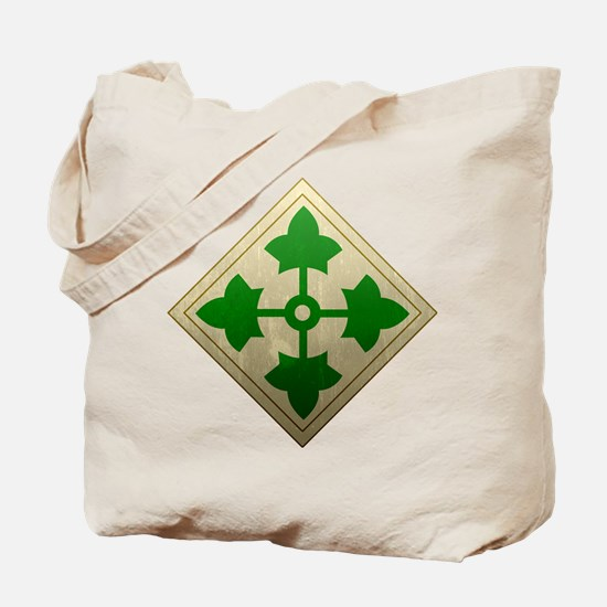 4th Infantry Division - Stead Tote Bag