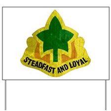 4th Infantry Division - Stead Yard Sign
