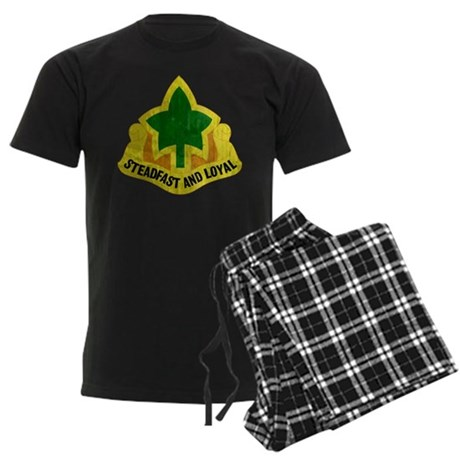 4th Infantry Division - Stead Men's Dark Pajamas