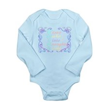 Naughty twins 3 Long Sleeve Infant Bodysuit