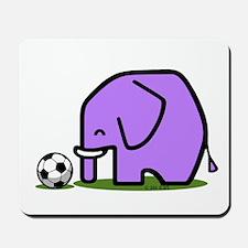 Soccer Elephant(1) Mousepad