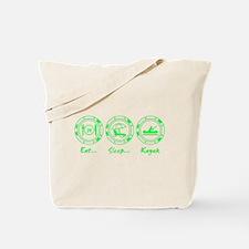 Eat Sleep Kayak (G) Tote Bag