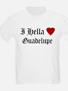 Hella Love Guadelupe Kids T-Shirt