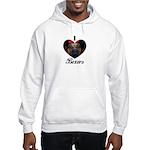 I HEART BOXERS Hooded Sweatshirt