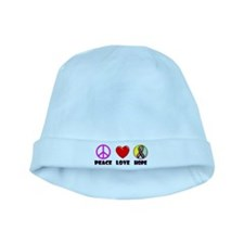 Peace Love Hope baby hat