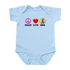 Peace Love Hope Infant Bodysuit