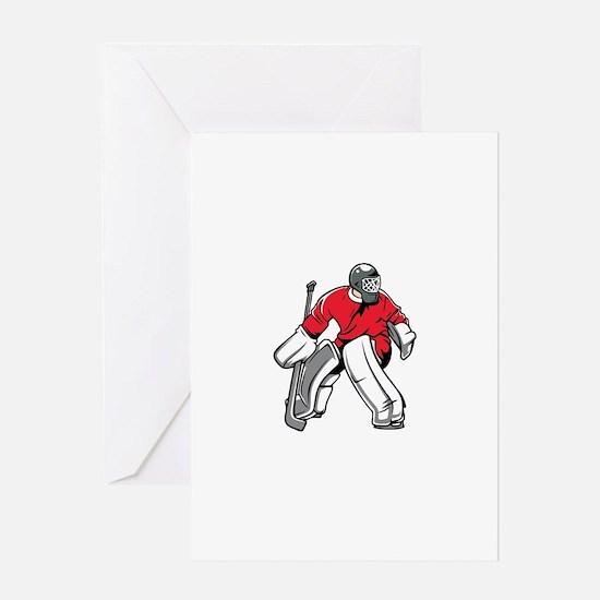 Cute Hockey Greeting Card