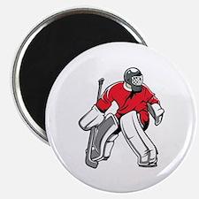 Cute Ice hockey gloves Magnet